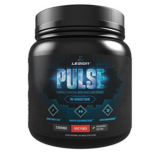 Legion Pulse Pre Workout Supplement - All Natural Nitric Oxide ...