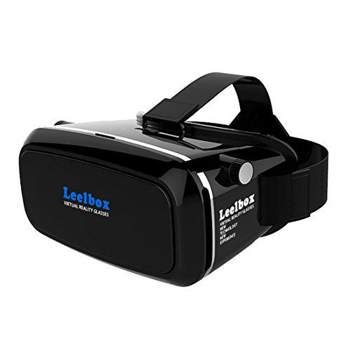 e0eb7d485f6 Leelbox 3D VR Glasses Google Cardboard 360 degree Viewing Immersive Virtual  Reality 3D Video Games Glasses VR Headset Compatible with Smartphone  3.5-6.0 ...