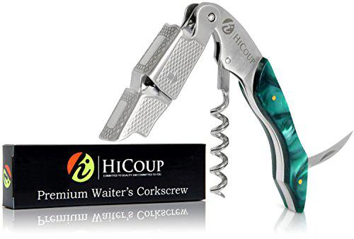 Waiters and Bartenders with Natural Rosewood Handle CORKAS Waiters Corkscrew All-in-one Wine Openers and Bottle Opener for Sommeliers
