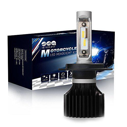 SEALIGHT H4//9003//HB2 LED Headlight Bulbs Conversion Kit X1 Series DOT Approved 2 Yr Warranty Dual High//Low Beam -Xenon White 6000K